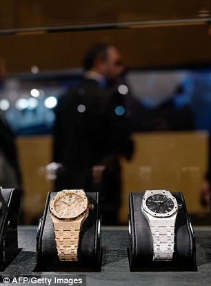 The missing items are said to include Audemars Piguet watches worth up to £500,000 each