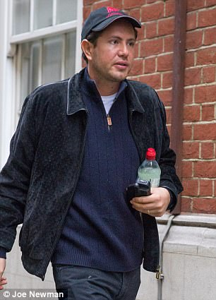 Mr Stunt outside court on Tuesday