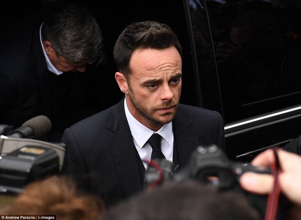 TV presenter McPartlin  pleaded guilty to drink-driving at Wimbledon Magistrates Court following a crash last month