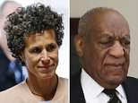 Andrea Constand returns to the courtroom after a recess on the sixth day of Cosby's sexual assault retrial Monday