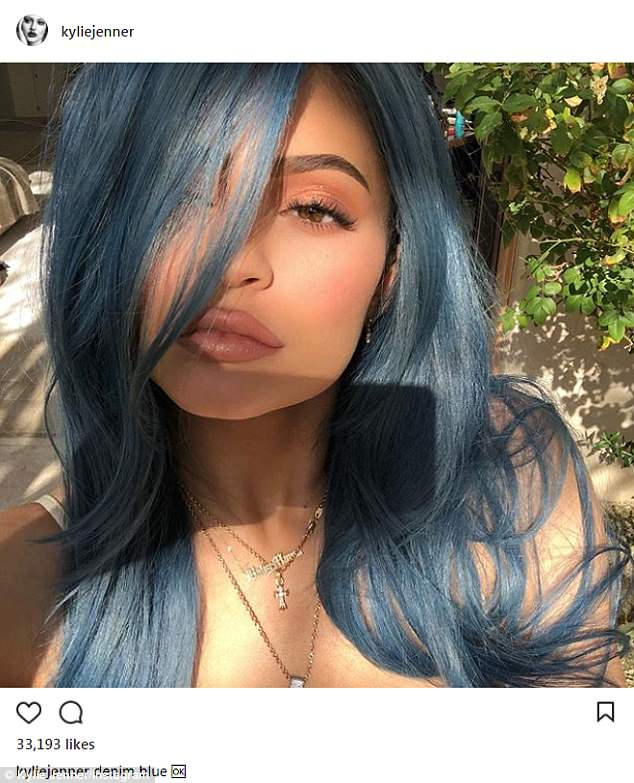 Hypercolor: Kylie Jenner, 20, has been changing her hair as often as her mood lately