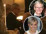 Apple CEO Tim Cook managed to bag a seat next to France's First Lady Brigitte Macron during the White House state dinner Tuesday night
