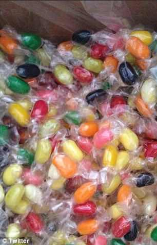 Another was furious when she ordered some jelly beans off the Internet and found they were individually wrapped in plastic