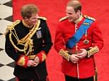 Prince Harry has asked his brother William to be his best man, Kensington Palace has said. The royal brothers were pictured at an Anzac Day event yesterday where Wills planted a supportive kiss on his the cheek of his future sister-in-law