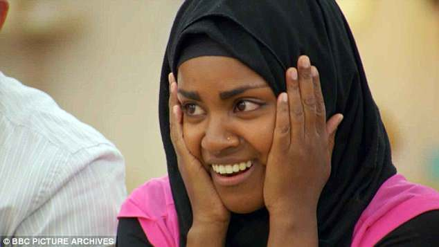Popular:Nadiya became a household name after winning the sixth series of The Great British Bake Off in 2015