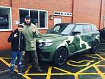 Tyson Fury had earlier posted a picture on Instagram of his Range Rover parked across a disabled spot