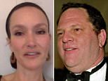 New claims: Zoe Brock (above) was just 23 in 1997 when she claims that Harvey Weinstein tried to force her into giving him a naked massage at his hotel