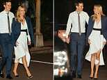 Date night! Ivanka Trump, 36, was pictured leaving her Washington D.C. home with her husband Jared Kushner on Friday