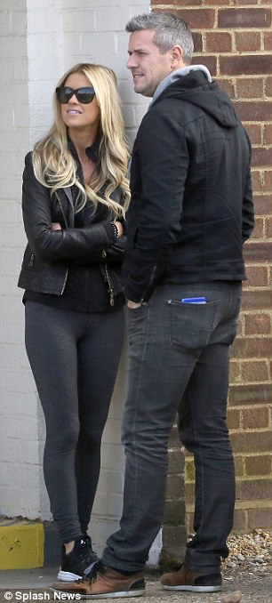 Aww: The two took in the sights and sounds of London before getting in the vehicle