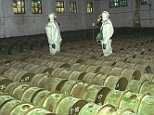 The chemical weapons base in Shikhany, southern Russia, which has now been destroyed