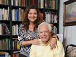 John Simpson, pictured at home in Oxford with his wife Dee, has revealed that he was almost forced out of the Corporation last year by a boss who threatened to cut his pay