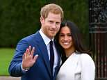 An SAS officer and his wife stood in for Prince Harry and Meghan Markle (pictured) as Special Forces rehearsed security measures ahead of next month's royal wedding