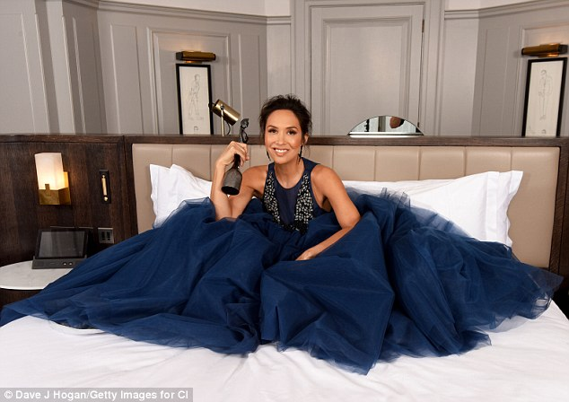 """Annoyed: Speaking to The Sun, Myleene raged: 'People try to tell me all day long, """"I don¿t like your hair"""", """"Why have you got your a*** out?"""""""