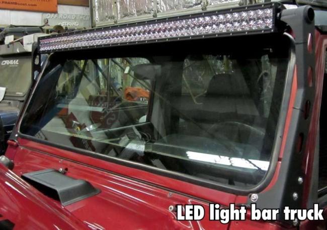 led light bar truck