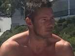 Crasher: Jody Sanders, believed to be in his 30s, lost control of his vehicle as he reversed the wrong way up a road near Magaluf, Majorca