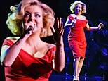LONDON, ENGLAND - APRIL 24:  Sheridan Smith performs at Royal Albert Hall on April 24, 2018 in London, England.  (Photo by David M. Benett/Dave Benett/Getty Images)