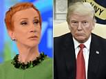 Kathy Griffin was the guest Monday, April 30, 2018 on ABC's 'The View.' She cursed while speaking about President Trump