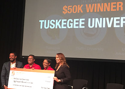 Tuskegee captures $50K 'Retool Your School' grand prize