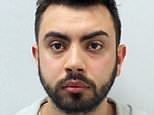 Bradley Clifford, 24, drunkenly chased a scooter at nearly double the speed limit on the wrong side of the road after a bottle was thrown at his high-powered sports car