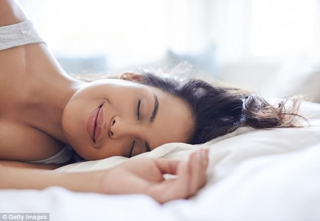 70 per cent of females experience overtly sexual dreams over their lifetime, compared to 100 per cent of men (stock image)