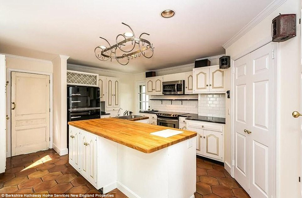 Gourmet taste: Aside from top end fixtures, the kitchen is done out in imported tiles
