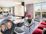 Impressive: Sting, 65, and his wife Trudie Styler, 64, have sold their magnificent penthouse duplex overlooking New York 's Central Park for an eye-watering $50 million
