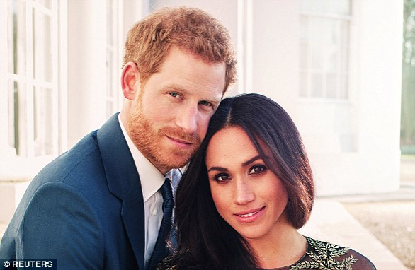 Prince Harry and Meghan Markle released this photograph to mark their engagement
