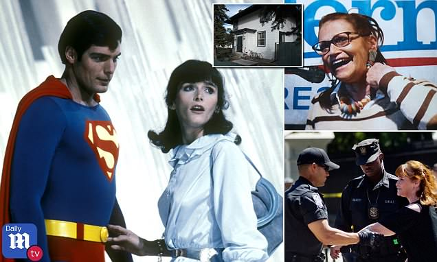 Margot Kidder's home had been targeted by meth-heads