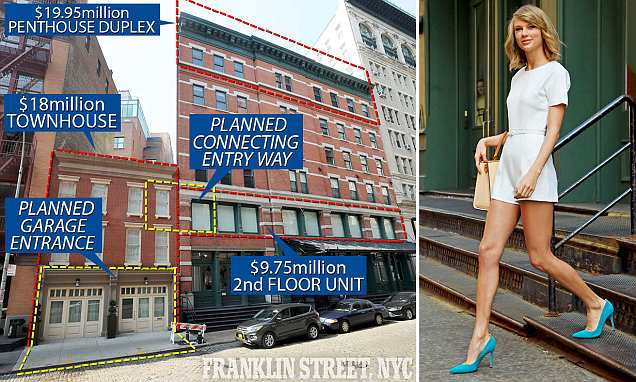 Taylor Swift's $50M NYC compound takes shape with new renovations
