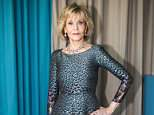Jane Fonda (pictured), 80, believes some women create a 'plastic mask' after being abused
