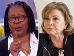 Whoopi Goldberg (pictured on The View on Wednesday) lashed out at Roseanne Barr