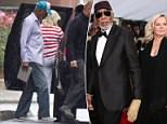 Morose Morgan:Morgan Freeman was seen for the first time since multiple women accused the actor of harassment of inappropriate behavior in interviews with CNN (above)