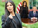 Kim Kardashian arrived at the White House for a meeting with President Trump to discuss prison reform and Alice Marie Johnson. Kim arrived at the White House and stopped to speak with security detail before meeting officials who walked her into the visitor's access. <P> <B>Ref: SPL1704418  300518  </B><BR/> Picture by: Richard Beetham/ Splash News<BR/> </P><P> <B>Splash News and Pictures</B><BR/> Los Angeles: 310-821-2666<BR/> New York: 212-619-2666<BR/> London: 870-934-2666<BR/> photodesk@splashnews.com<BR/> </P>