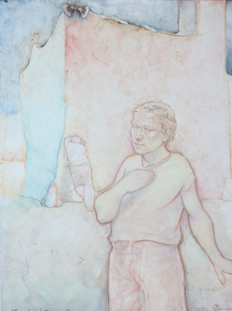 Mercoledì delle Ceneri. Olio su tela. 110 x 90 cm