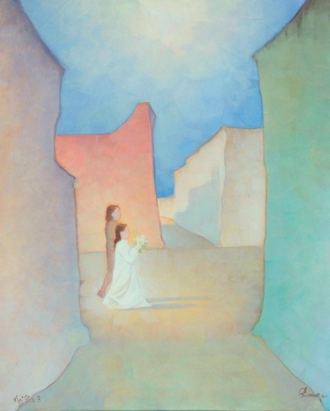 Vigilia 3. 110 x 90 cm