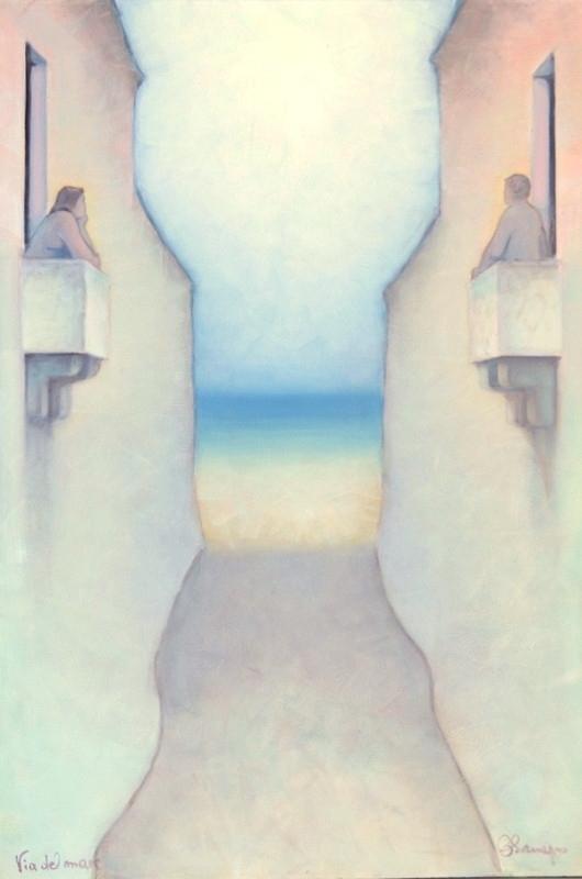 Via del mare. 110 x 75 cm