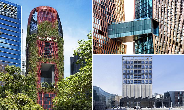 From a leaf-clad hotel in Singapore to the New York skyscraper: World's best tall