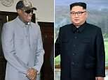 NBA star Dennis Rodman will be at the historic meeting between Donald Trump and North Korean leader Kim Jong Un next week, sources claim. Rodman  befriended Kim during a 2013 trip to the country (pictured during the trip, sat with Kim)