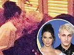 EXCLUSIVE: ** NO USA TV AND NO USA WEB **¿ Kendall Jenner is living her best (single) life -- kickin' it with NBA star Ben Simmons one day ... and locking lips with Gigi and Bella Hadid's brother the next. Kendall was spotted smack-dab in the middle of a heavy makeout sesh early Tuesday morning with Anwar Hadid at a CFDA Awards after-party in NYC. You can tell it's him from the bleach blonde hair he was sporting at the event. Plus, Kendall took a photo of his tattooed hands herself.Eyewitnesses tell us Kendall was hangin' with Anwar at Socialista New York for about 2 hours -- kissing, cuddling and drinking with the youngest Hadid sibling the whole time. She ended up heading back to her hotel by herself around 4 AM or so ... no Anwar in sight. 05 Jun 2018 Pictured: Kendell Jenner and Anwar Hadid. Photo credit: TMZ/MEGA TheMegaAgency.com +1 888 505 6342