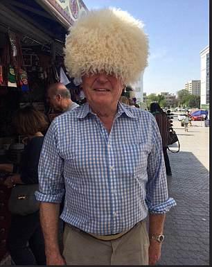 Former Lib Dem leader Paddy Ashdownis in Uzbekistan where he has been trying on an array of bizarre headwear