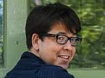 Michael McIntyre gave a cheeky grin after he told MailOnline today he was 'feeling better' after his terrifying knifepoint robbery