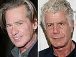 Speaking out:Val Kilmer wrote a 900-word post on Facebook saying that it was selfish of Anthony Bourdain to take his own life