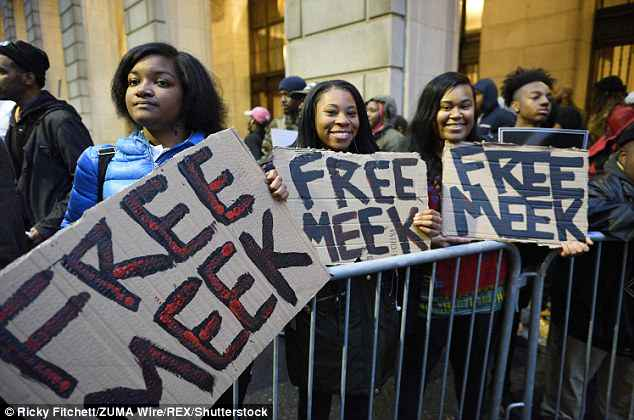 The Meek mill case has awakened activists who are asking for his release