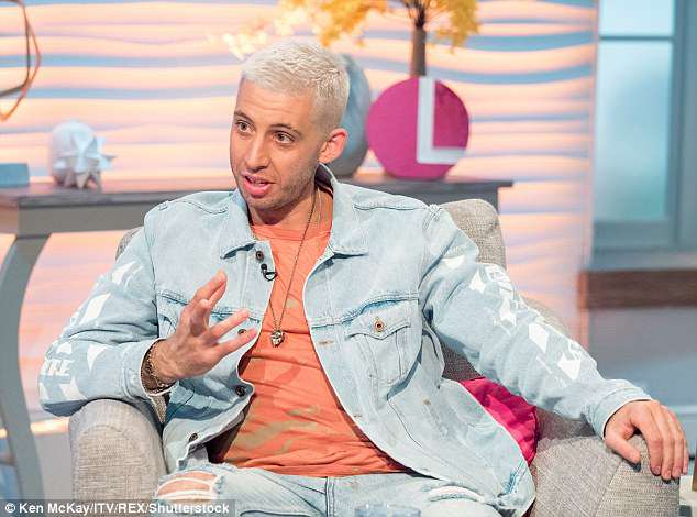Opening up: Example told Lorraine Kelly he 'didn't know how to talk' about his devastation and struggled to cope with his loss in the wake of the tragedy