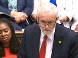Resigned: Labour frontbencher Ged killen with Jeremy Corbyn