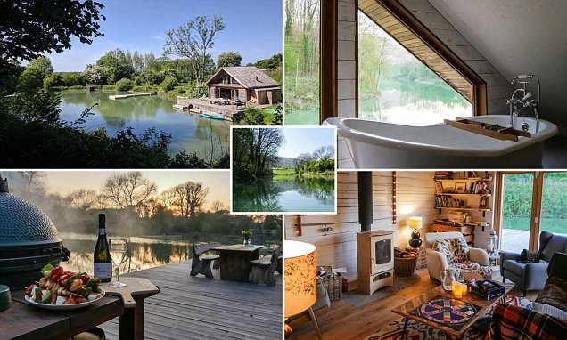 The amazing floating Canopy and Stars cabin retreat in Sussex that comes with its own