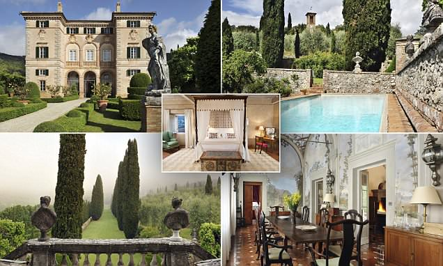 The 17th-century Tuscan villa designed for a POPE you can rent via Sotheby's for £50,000 a