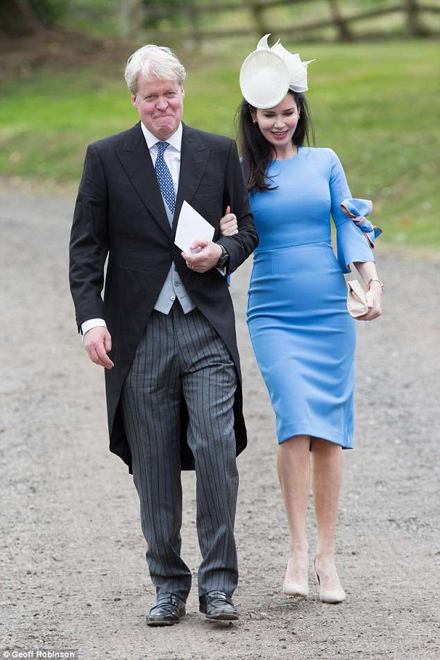 Princess Diana's brother, Earl Spencer, attended with his wife Karen Gordon