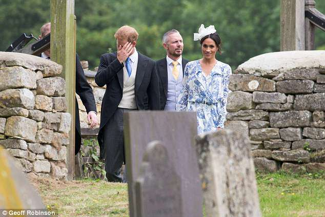The couple, pictured at the wedding, tied the knot themselves four weeks ago yesterday