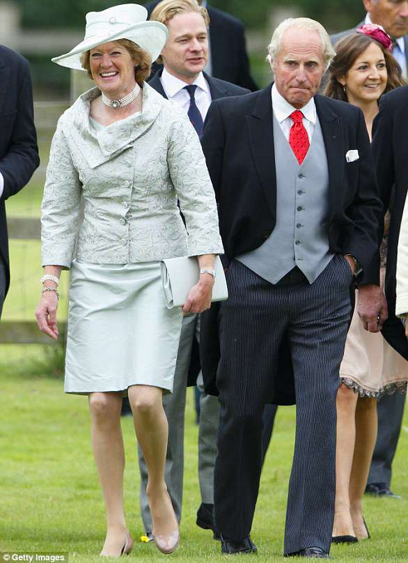 Close: Sarah McCorquodale, pictured, used to accompany her sister to royal events